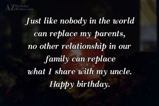 Birthday Message & Quotes For Uncle Birthday Image