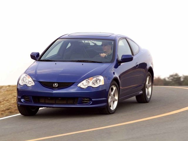 Blue best Acura RSX Car on the road