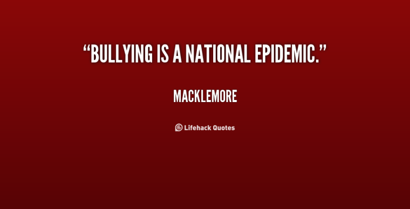 Bullied Sayings Bullying is a