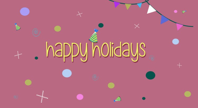 Celebrate Happy Holiday Wishes Image