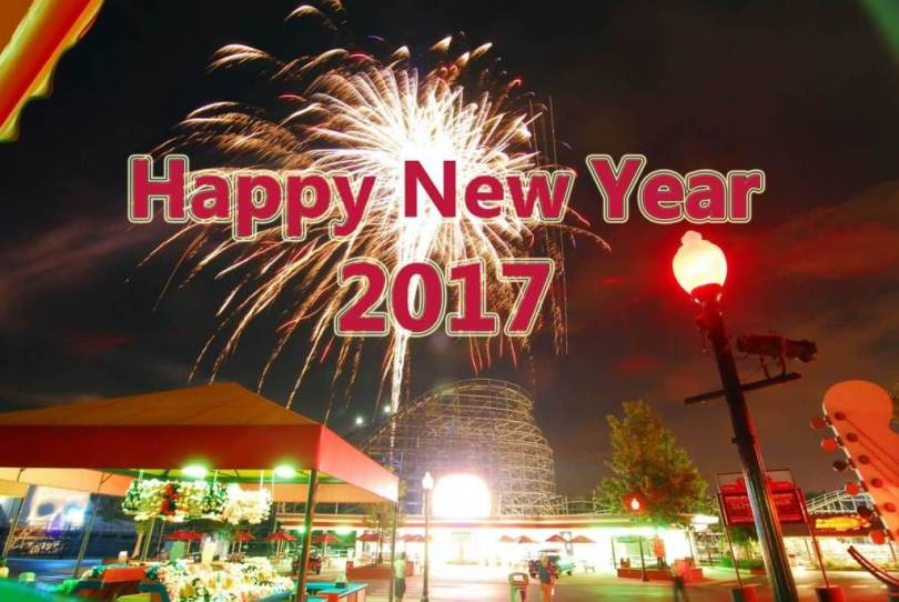 Celebrate New Year 2017 Wishes Image