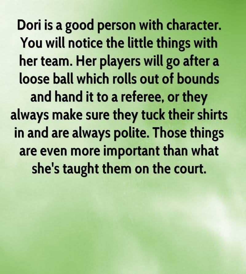 Character Quotes Dori Is A Good Person