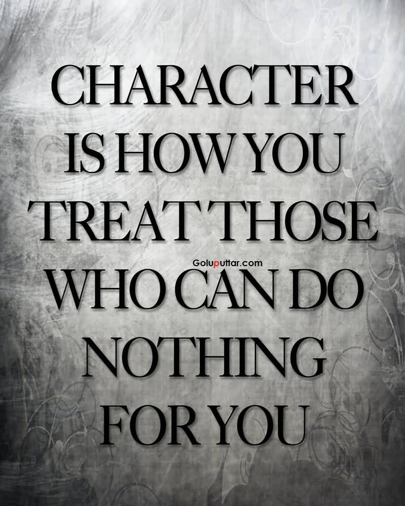 Character Quotes Sayings 08