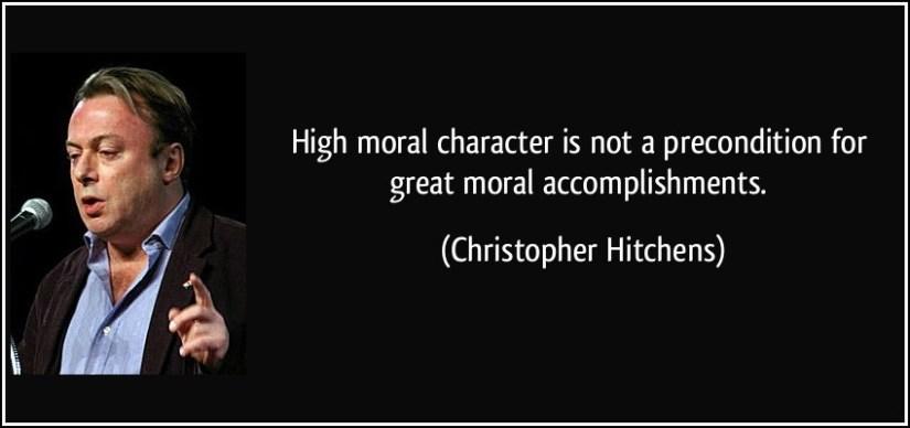 Character Sayings High Moral Character