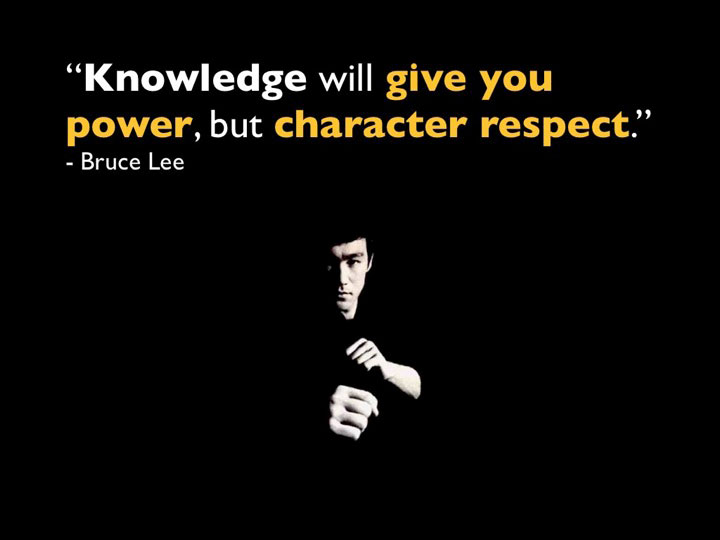 Character Sayings Knowledge Will