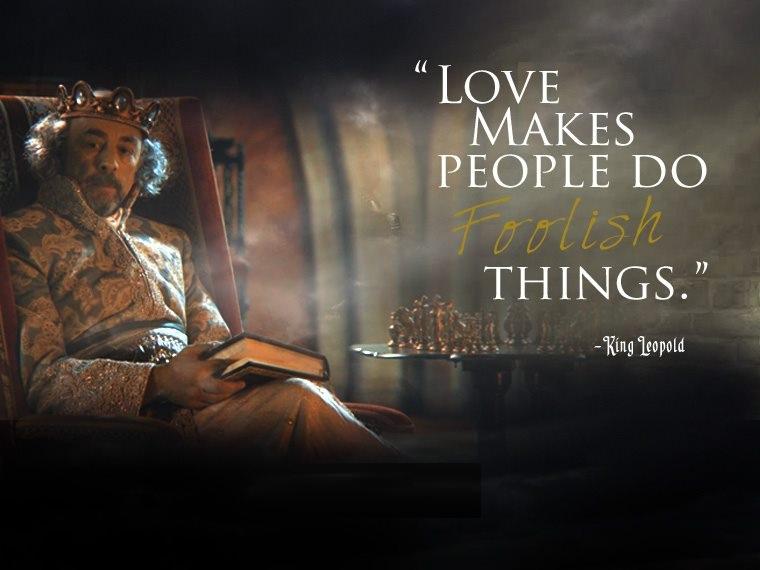 Character Sayings Love Makes