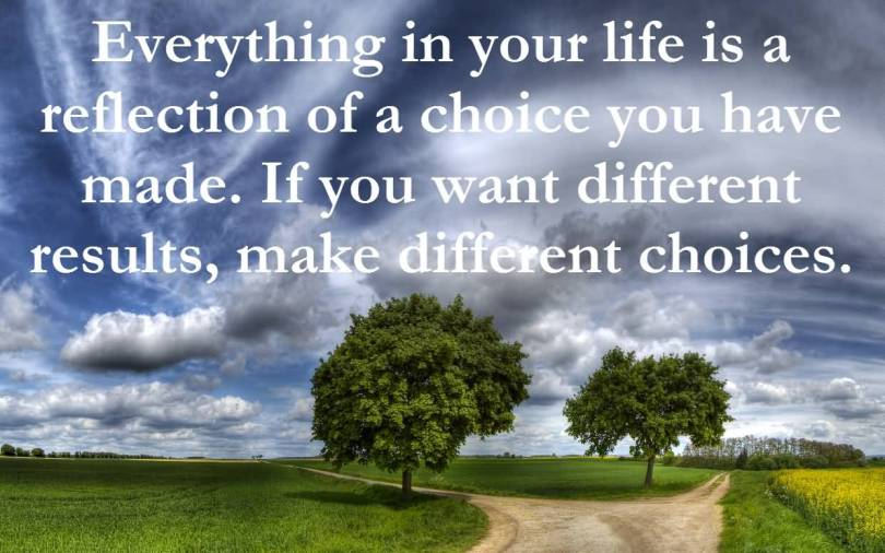Choice Quotes Everything In Your Life
