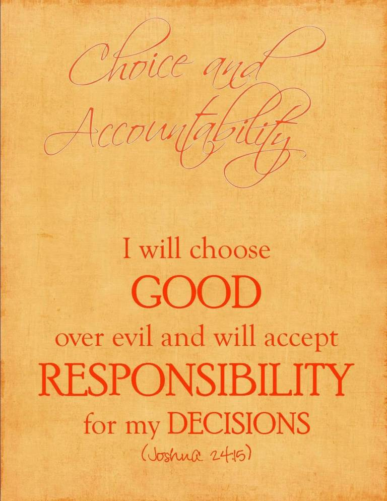 Choice Quotes I Will Choose Good