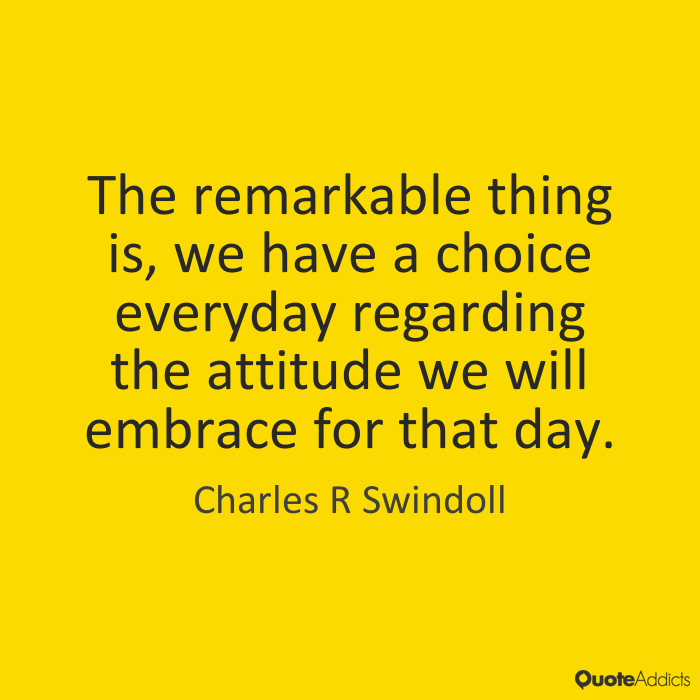 Choice Sayings The remarkable thing is