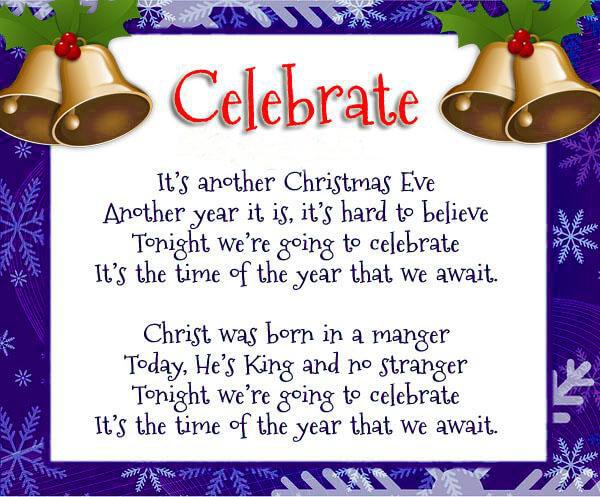 Christmas Poem Image