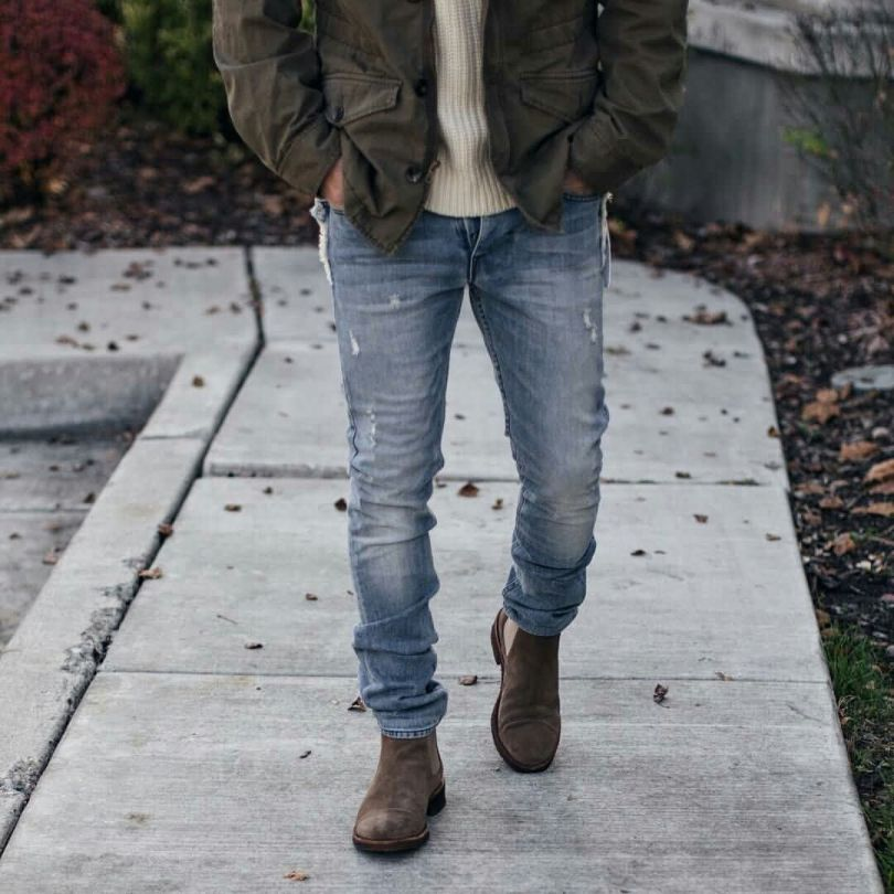 Cool Guy With Best Leather Shoe For Winter