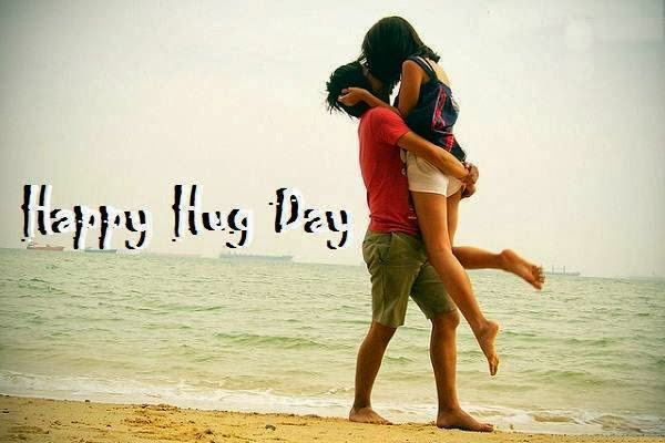 Couple Celebration Happy Hug Day Image