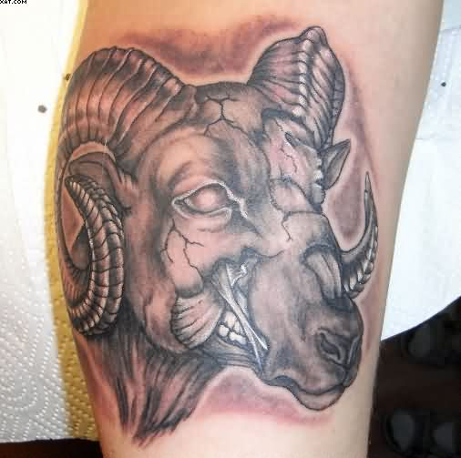 1f0b00338 45 Mighty Zodiac Aries Tattoo Ideas, Designs With Meaning | Picsmine