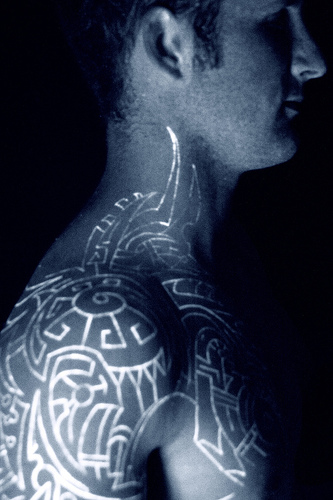 51 Eye Catching Black light Tattoo For All The Cool Guys