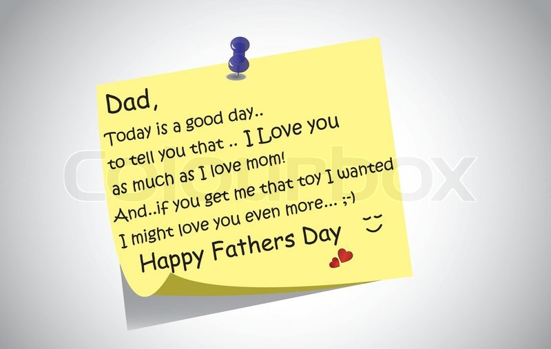 Dad Today Is A Good Day Happy Father's Day Wishes
