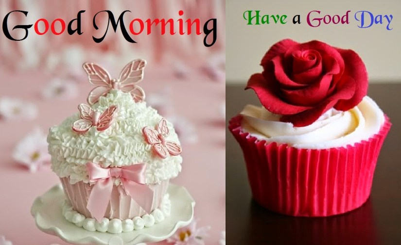 Delicious Cake  Greetings Good Morning  Have A Great Day