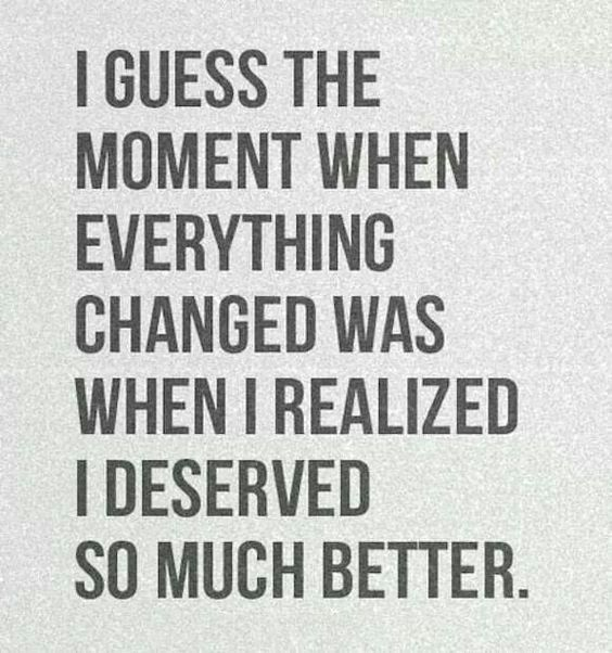 Divorce Quotes I guess the moment when everything changed was when i realized