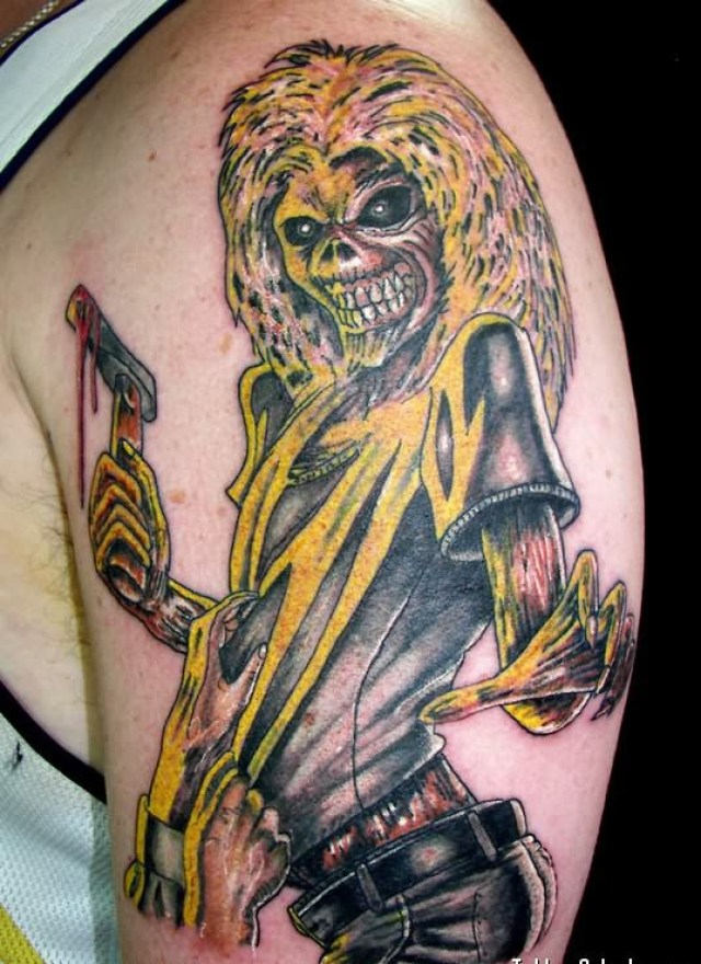 Rock Band Tattoo 033