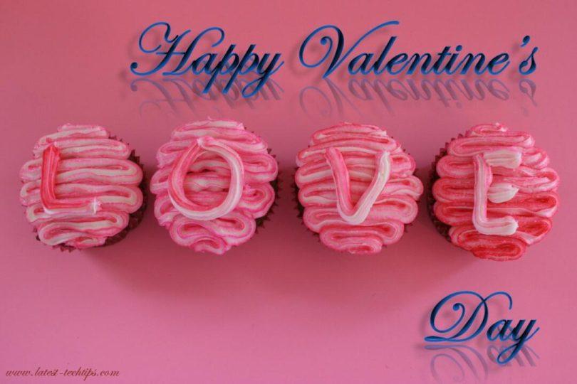 Fabulous Happy Valentine Day Wish To My Gorgeous Girlfriend