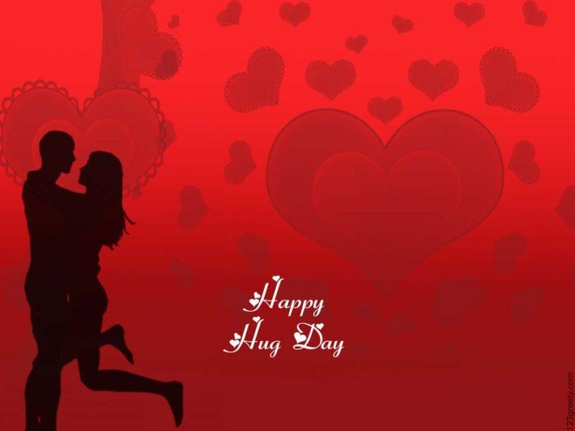 Fabulous Hug Wishes Image