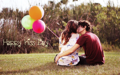 Fabulous Kiss Day Wishes Couple Image Kiss Day Wishes Images