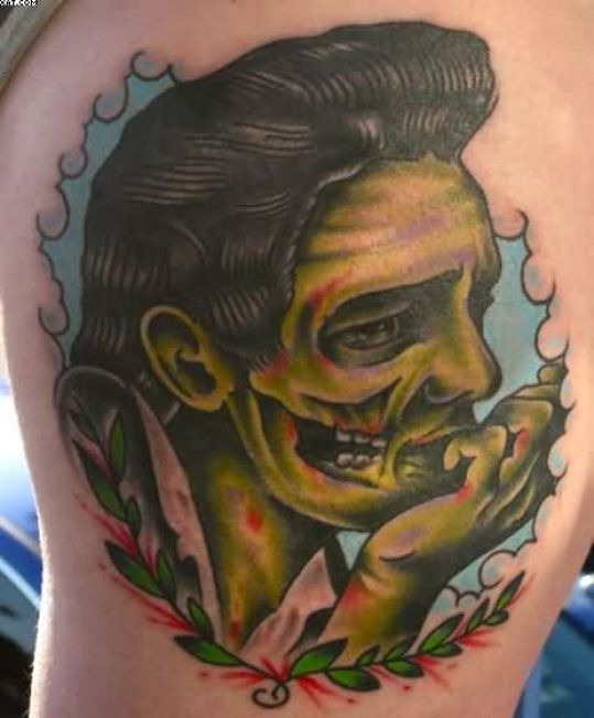 Fantastic Celebrity Zombie Tattoo Picture For Baby Girl