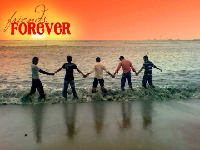 Friend Forever Happy Friendship Day Image