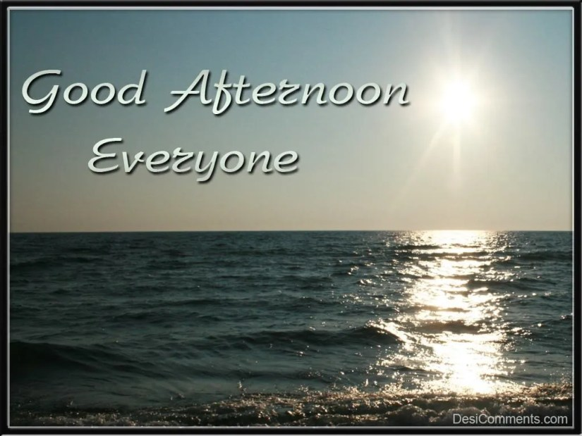 Friend Good Afternoon Wishes Image