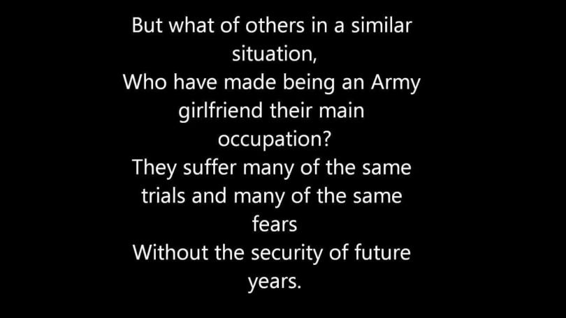 Friends Quotes But what of other in a similar situation who have made being an army girlfriend their man occupation