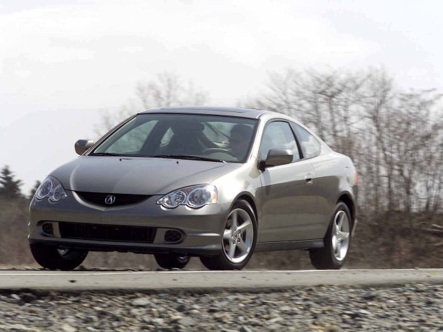Front side view of beautiful Acura RSX Car