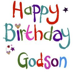 Godson Quotes Happy birthday godson