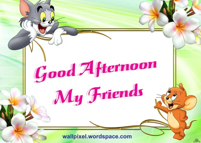 Good Afternoon Cartoon Image