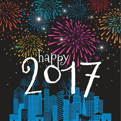 Great Friends Happy Year 2017 Wishes Message Image