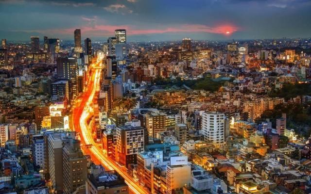 Great Tokyo Full HD Wallpaper