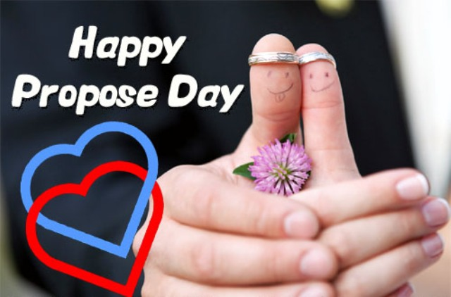 Grow Old Along With Me Happy Propose Day Greetings Image