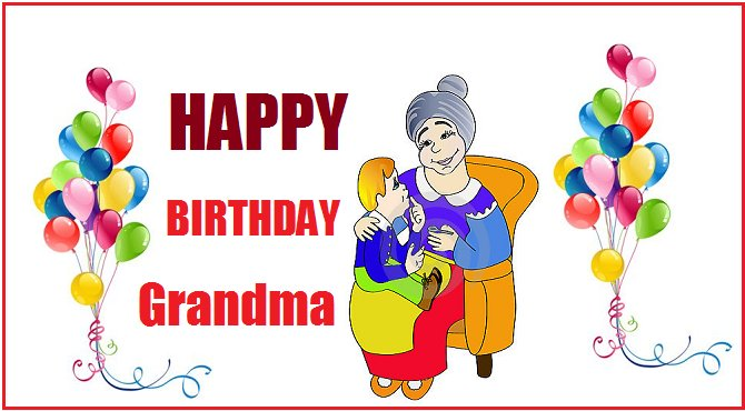 Happy Birthday Grandma Greetings & Wishes Card