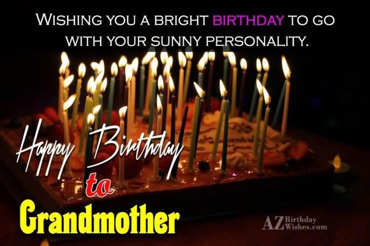 Happy Birthday To Dearest Grandmother Wishing You A Amazing Birthday