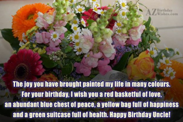 Happy Birthday Uncle Greetings Message & Quotes Image