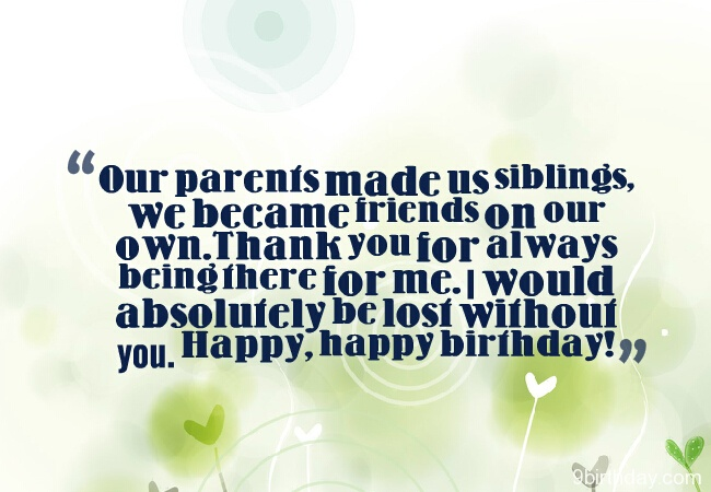 Happy Birthday Wishes For Lovely Sister Message Image