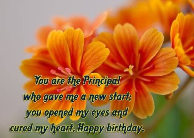 Happy Birthday Wishes For Principal Sir Best Greeting Image