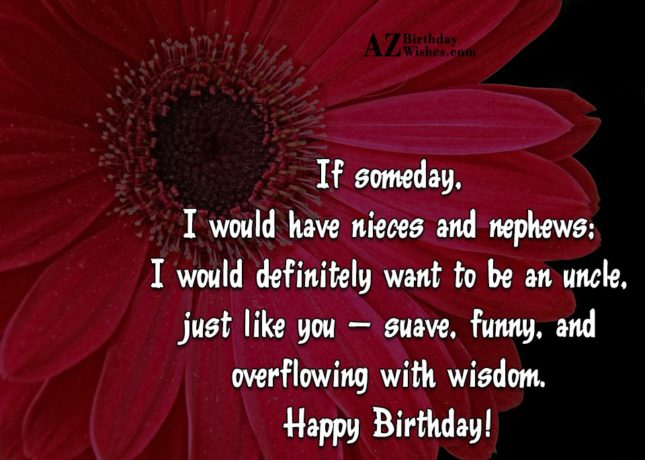 50 Greatest Uncle Birthday Wishes Quotes Message Picsmine