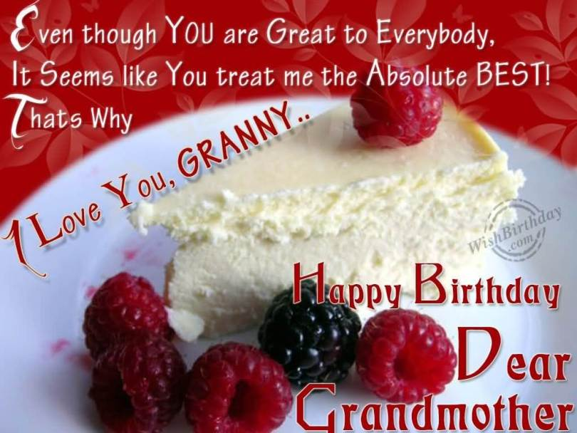 Happy Birthday World Great Grandmother Wishes Image