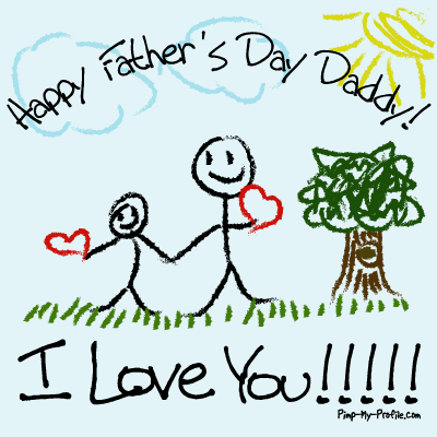Happy Father's Day I Love You