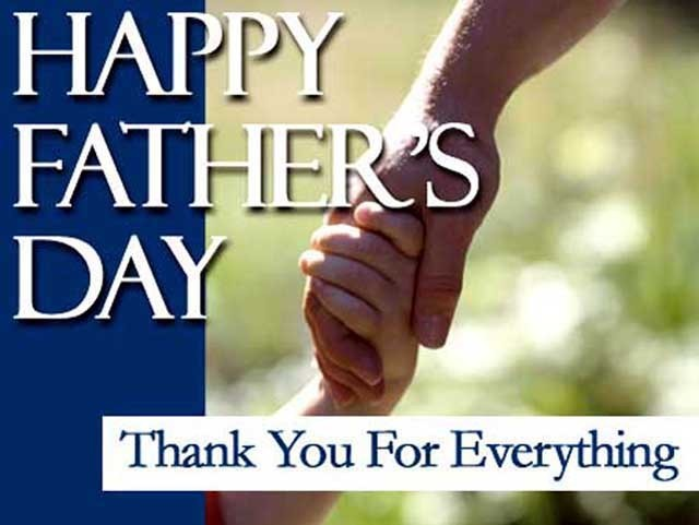 Happy Father's Day Thank You For Everything