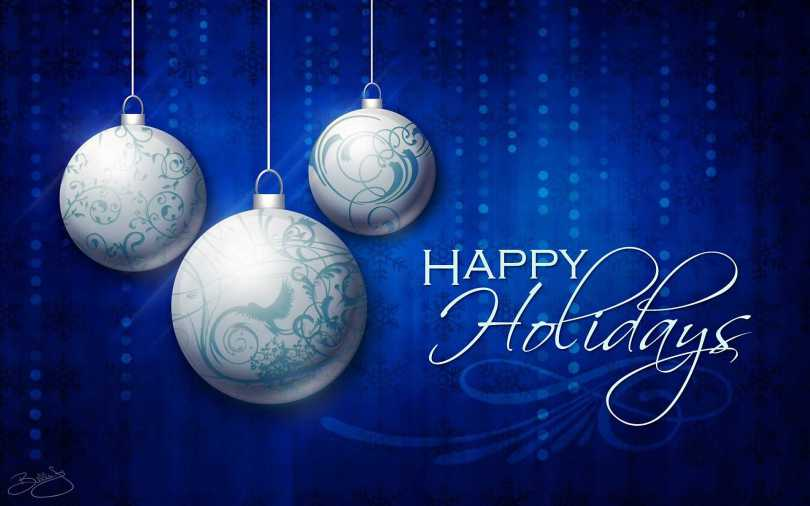 Happy Holiday Greetings