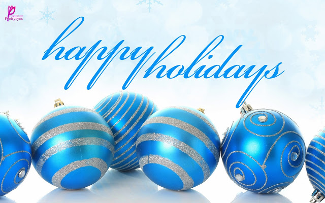 Happy Holiday Message Wallpaper