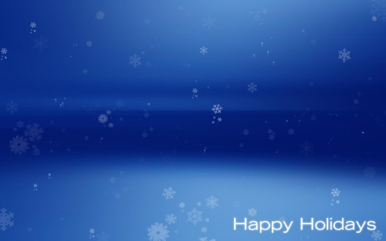 Happy Holiday Wishes Wallpaper