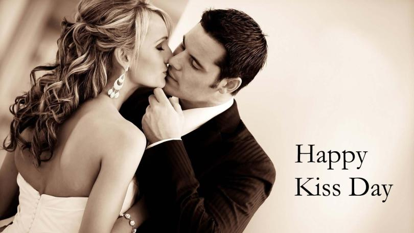 Happy Kiss Day Couple Image