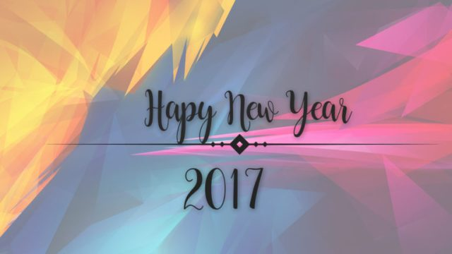 Happy New Year 2017 Wishes Wallpaper