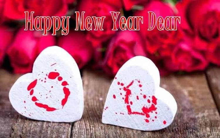 Happy New Year Dear Lovely Wallpaper
